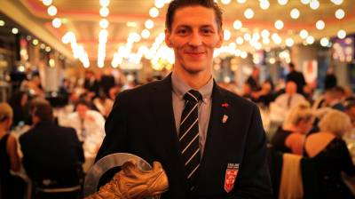 Jack Brown wins International Rugby League Wheelchair Golden Boot award