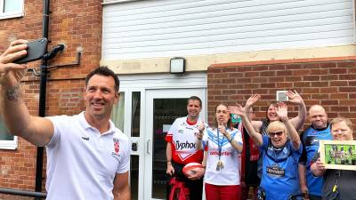 Paul Sculthorpe Delivers Learning Disability Week Surprise
