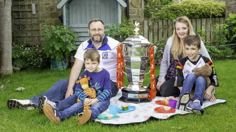 RUGBY LEAGUE LOVING DAD WINS THE ULTIMATE FATHER'S DAY GIFT