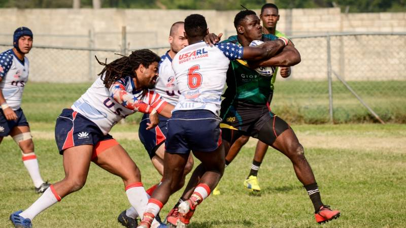 JAMAICA DEFEAT USA IN KINGSTON